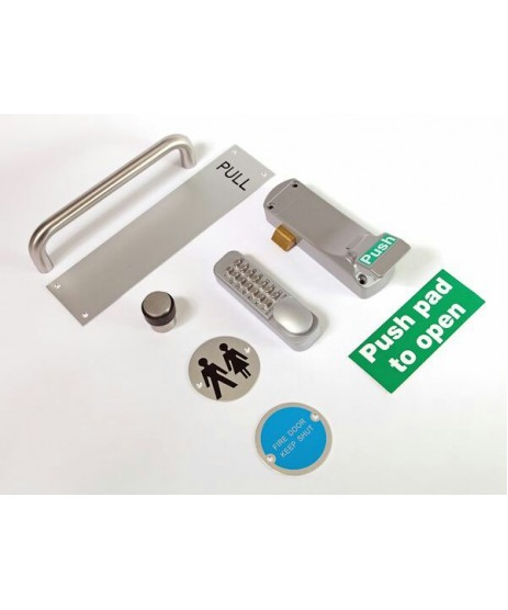 "TUBULAR LATCH 3"" Fire Rated"