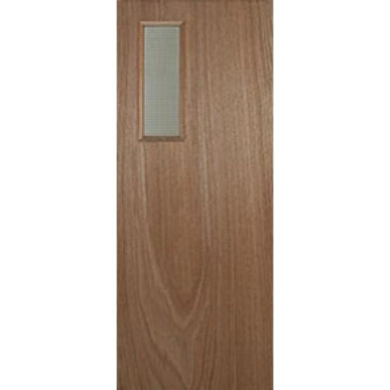 Paint Grade Vision Panel Fire Door FD30 (Rectangle)