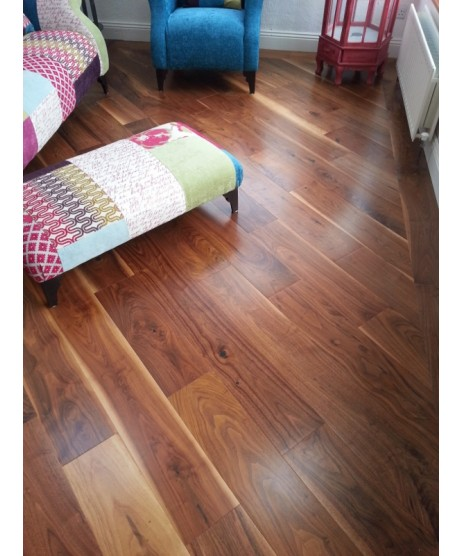 American Walnut Engineered Flooring 190MM X 20MM
