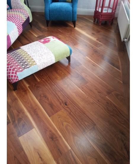 American Walnut Engineered Flooring 190MM X 20MM
