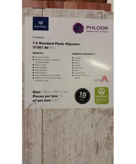 Kaindl 7mm Standard Plank 4Vgroove 37387 AV Pine