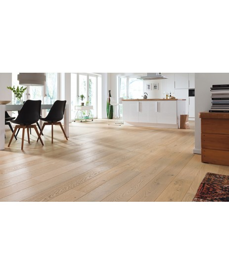 HARO Parquet 4000 Oak Solar Salt Sauvage brushed 2V