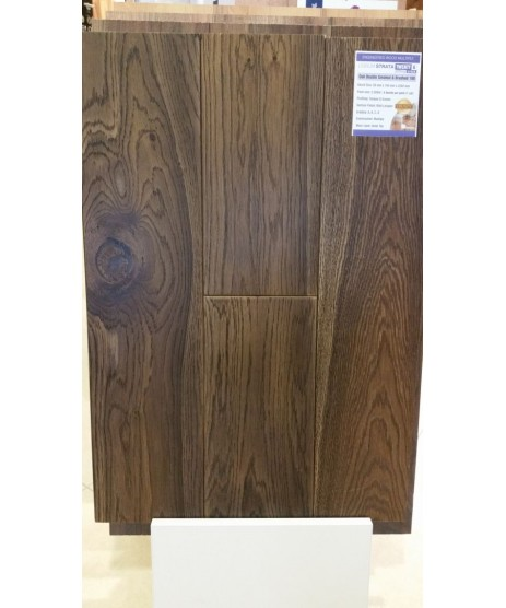 Lignum Strata Twenty 6 Oak Double Smoked & Brushed 190