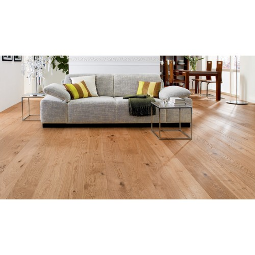 Haro Parquet 4000 Plank 1 Strip Oak Sauvage Brushed 4v