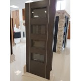 Deanta HP30G Dark Grey Ash Glass Door
