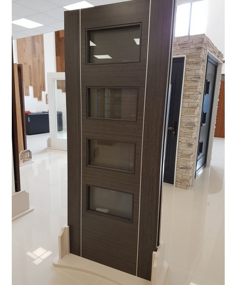 HP30G Dark Grey Ash Glass Door