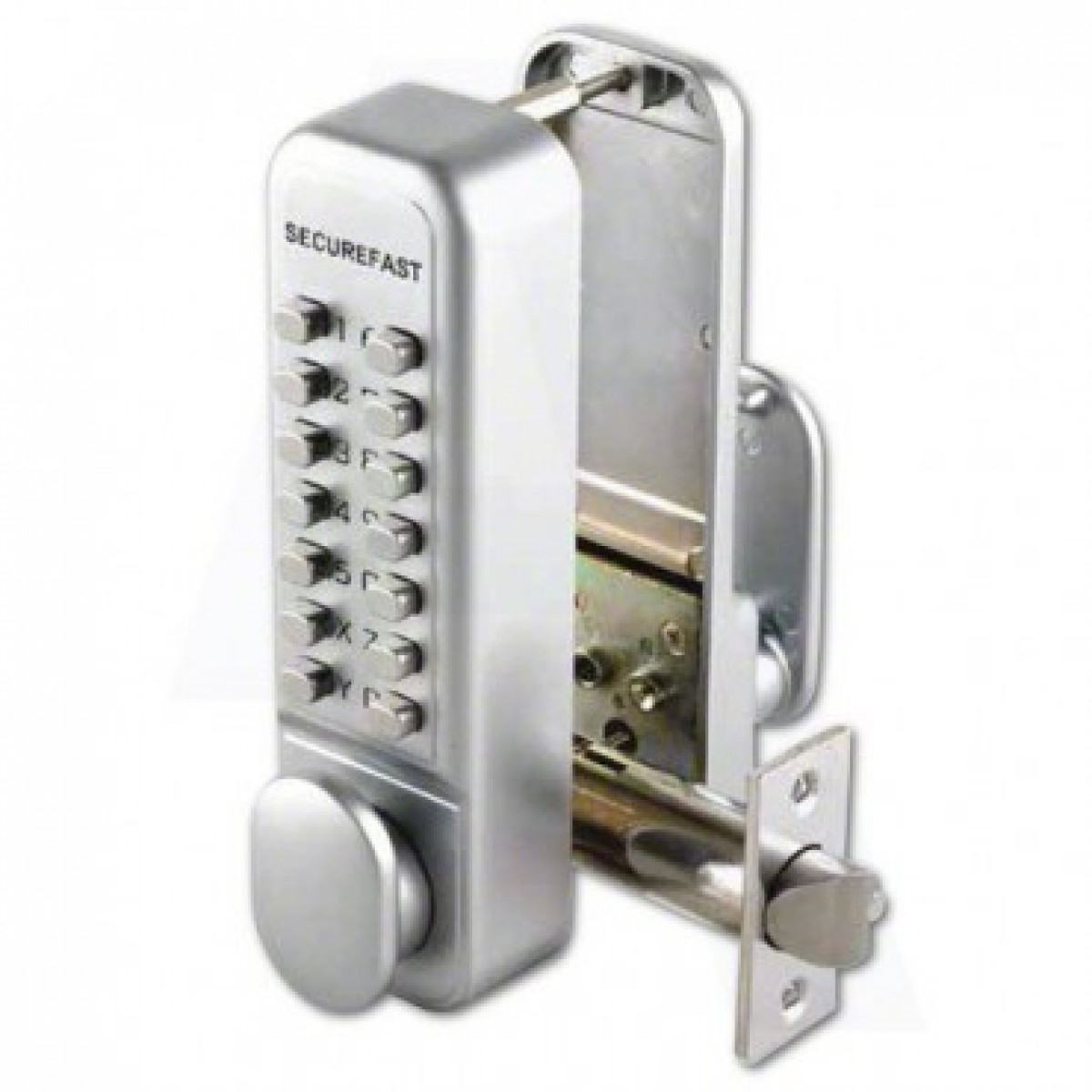 Securefast Digital Push On Door Lock Key Pad Code Combination Access