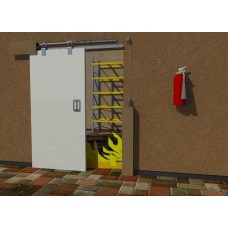 FDK1 Marathon Sliding Fire Door Kit (Self Closing)