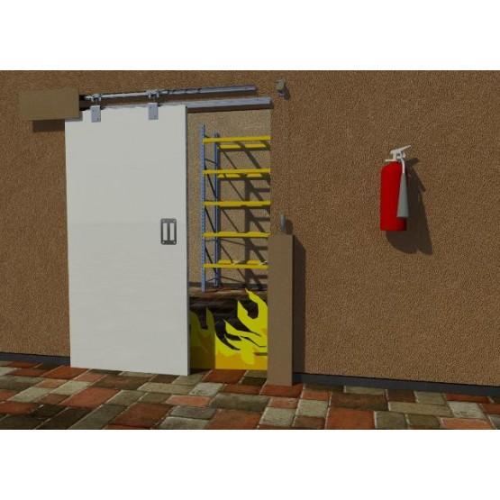 FDK1 Marathon Sliding Fire Door Kit (Self Closing)
