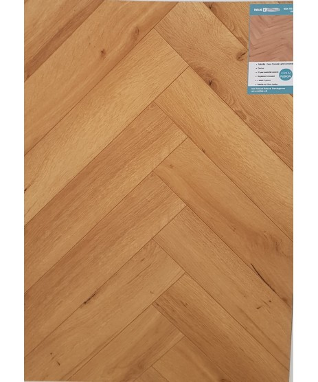 Herringbone Robust Oak Natural 12mm Laminate Flooring