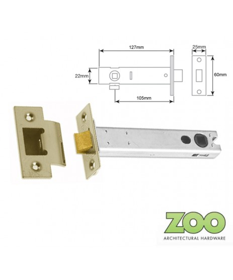 "4"" (102MM) HEAVY DUTY TUBULAR LATCH ZOO"