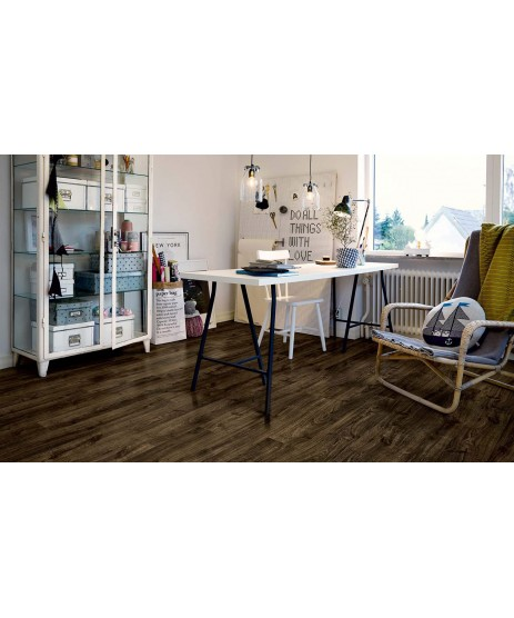 Pergo Vinyl Black City Oak Plank
