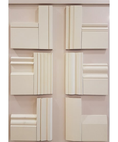 Deanta Victoriana Primed Architrave Set