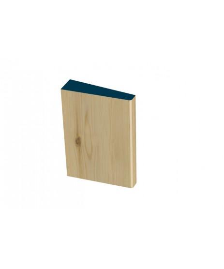 31 x 115mm Pre-Varnished Redwood Plinth Blocks (4x230mm)