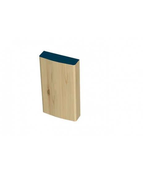 31 x 108mm Pre-Varnished Redwood Plinth Blocks (4x230mm)