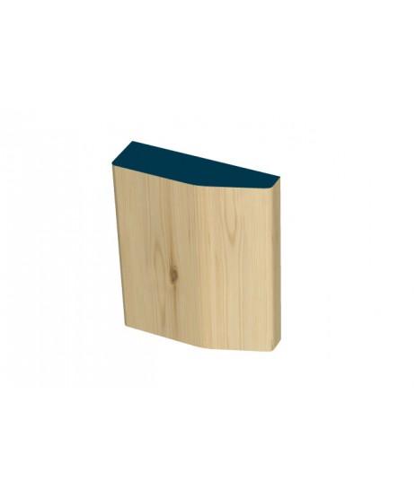 40 x 140mm Pre-Varnished Redwood Plinth Blocks (4x230mm)