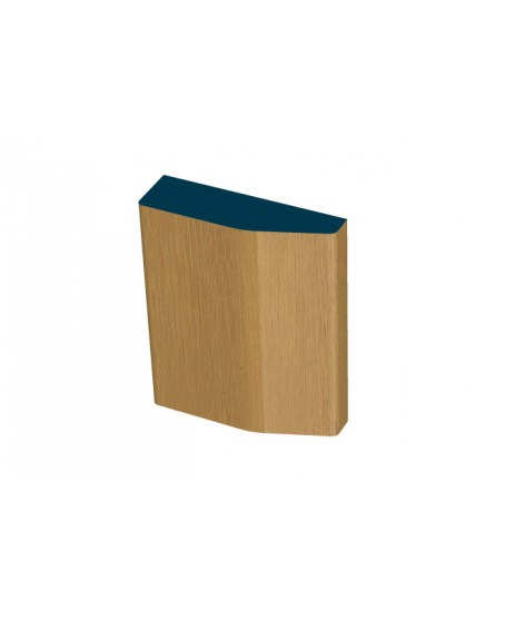 40 x 140mm Pre-Varnished Solid White Oak Plinth Blocks (4x230mm)