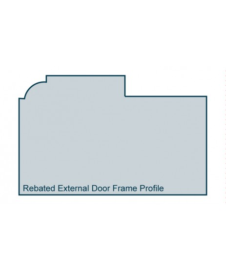 Primed Timber External Door Frame