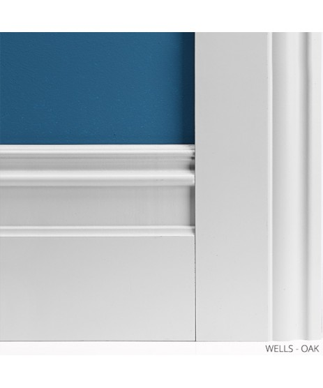 Deanta Wells Primed Architrave Set