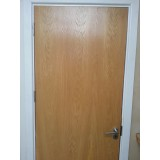 Fire Door Prehung Flush Oak Fire Door set