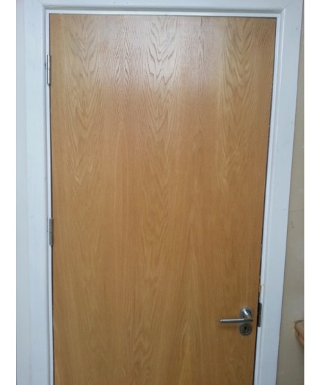 Pre Hung Flush Oak Fire Door set