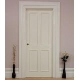 Pre Hung 4 Panel Primed Bolection Door Set