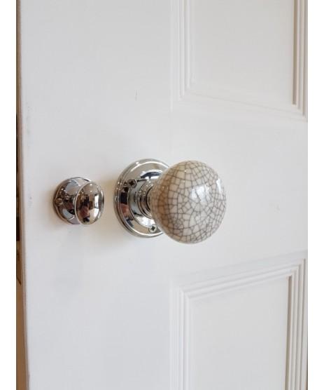 Oxford White primed Door Unglazed
