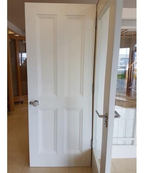 Cambridge White primed Door