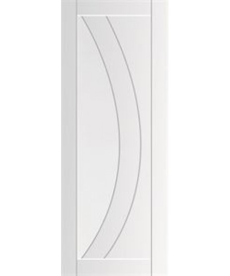 Deanta HP35G Primed Frosted Glass Door