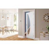 Deanta HP35G Primed Clear Glass Door