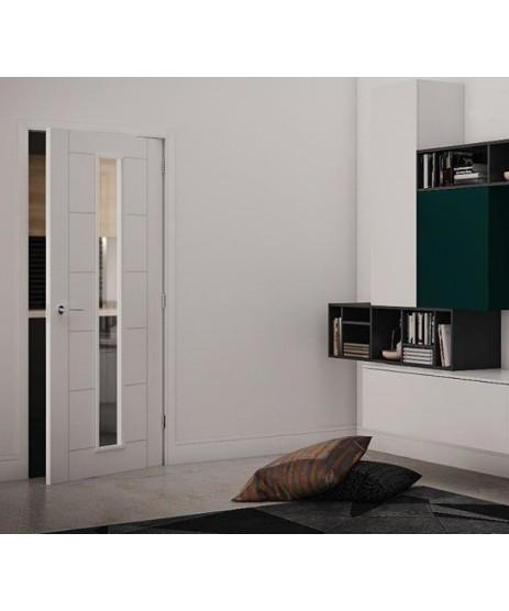 Deanta HP16G Primed White Door (Unglazed)