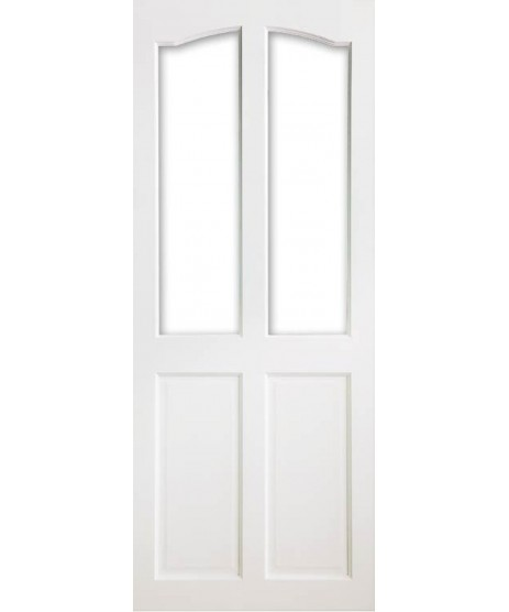 Deanta VR2G Primed White Door (Unglazed)