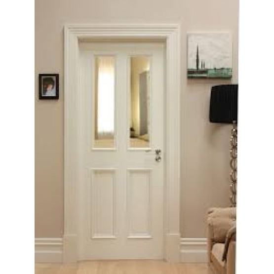 Deanta WR1G Primed White Door (unglazed) WR1G