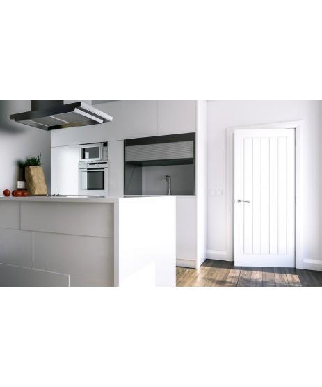 Deanta HP22 Primed White Door FD30