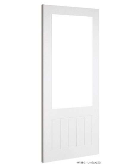 Deanta HP38G Unglazed Primed White Door