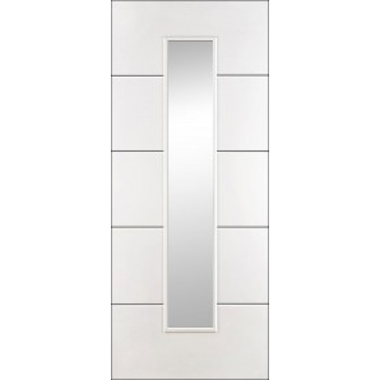 Doras Hydra Glazed Primed White Door