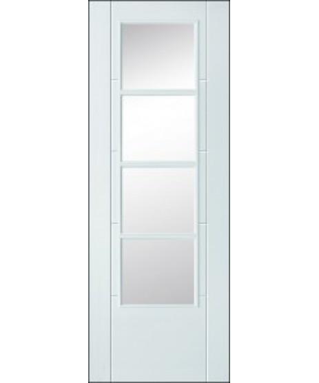 Doras Torea primed white door