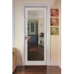 Cheshire Primed Shaker Door Clear Glass