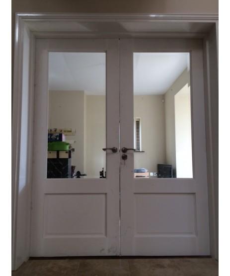 Deanta NM3G Primed White Door (unglazed)