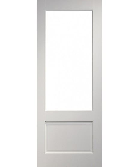 Deanta NM3G Primed White Door (unglazed)