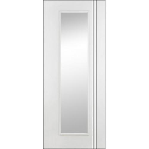 Doras Unicorn Primed Glass Door