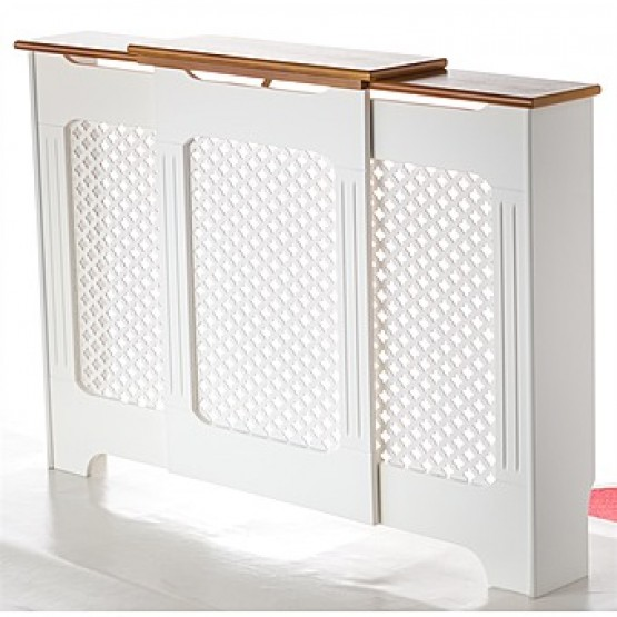 Radiator Cover Two Tone Adjustable 1430mm-2000mm