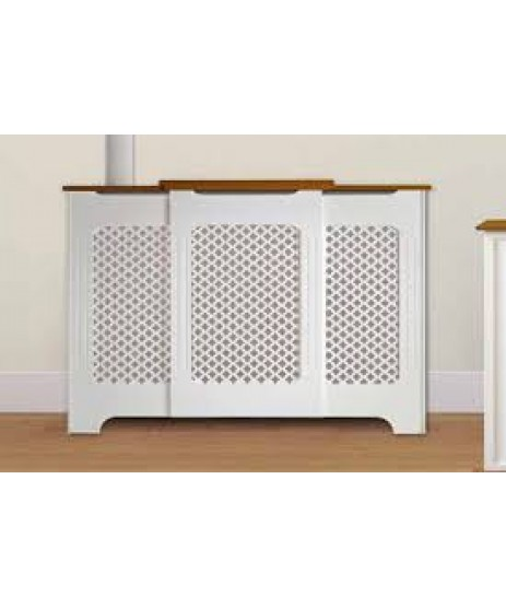 Radiator Cover Two Tone Adjustable 975mm-1425mm