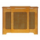 Radiator Cover Classic Oak Adjustable 1430mm-2000mm