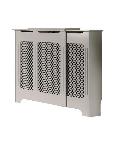 Radiator Cover Classic White Adjustable 1430mm-2000mm
