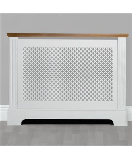 Radiator Cover Georgian Two Tone Small