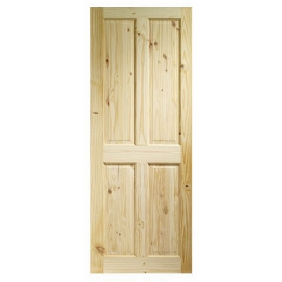 Kingscourt Red Pine 4 Panel Door