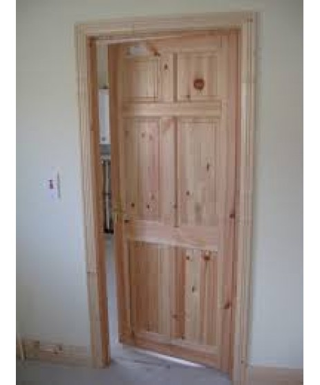 Red Deal Pre Hung Door Set