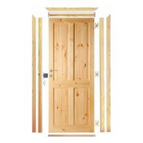 Red Deal Pre Hung Door Set