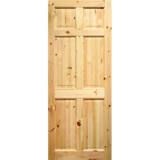 Seadec Westport Red Pine Door 6 Panel